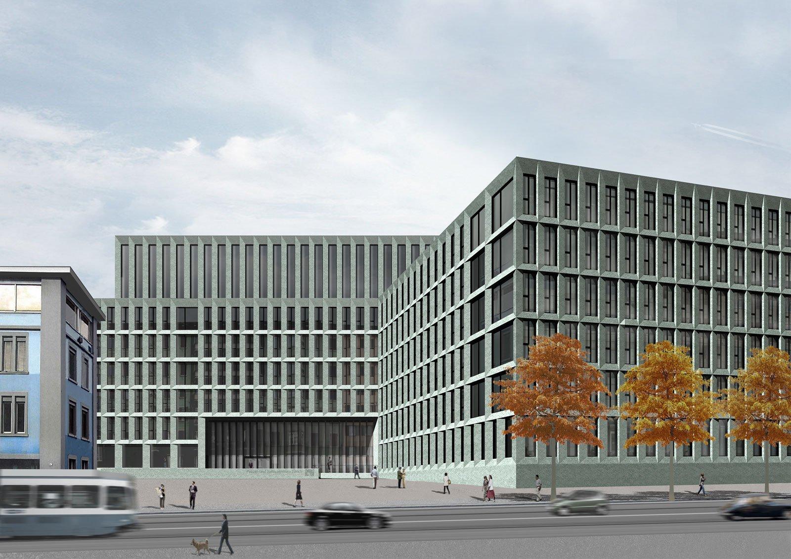 Neubau Polizei- und Justizzentrum, Zürich | Takt Baumanagement AG